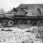 Jagdtiger of the Schwere Panzerjäger-Abteilung 653. Tactical number 332 left side