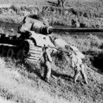 Destroyed Jagdtiger of sPzJgAbt. 653 near Gmund am Tegernsee