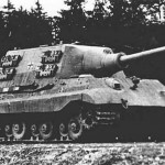 Jagdtiger with Porsche suspension