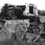Jagdtiger destroyed by internal explosion