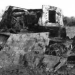 Jagdtiger destroyed by internal explosion