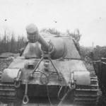 Jagdtiger of Schwere Panzerjager Abteilung 653 Steinweiler Pfalz 1945