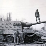 Tank destroyer Jagdtiger captured by the US Army