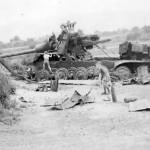 Destroyed Jagdtiger of the schwere Panzerjager Abteilung 653
