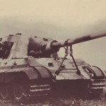 Jagdtiger at the Soviet Union's tank proving ground Kubinka
