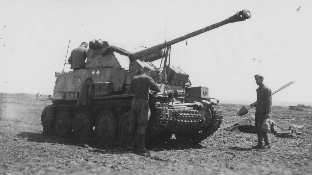 Panzerjager 38t fur 7,62cm PaK 36(r) Marder III