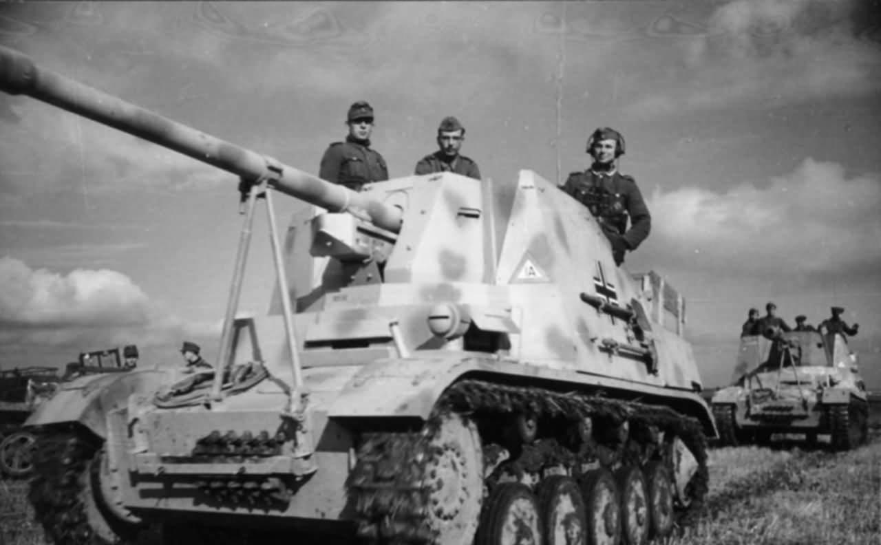 Panzerjager Marder Ii Front View World War Photos
