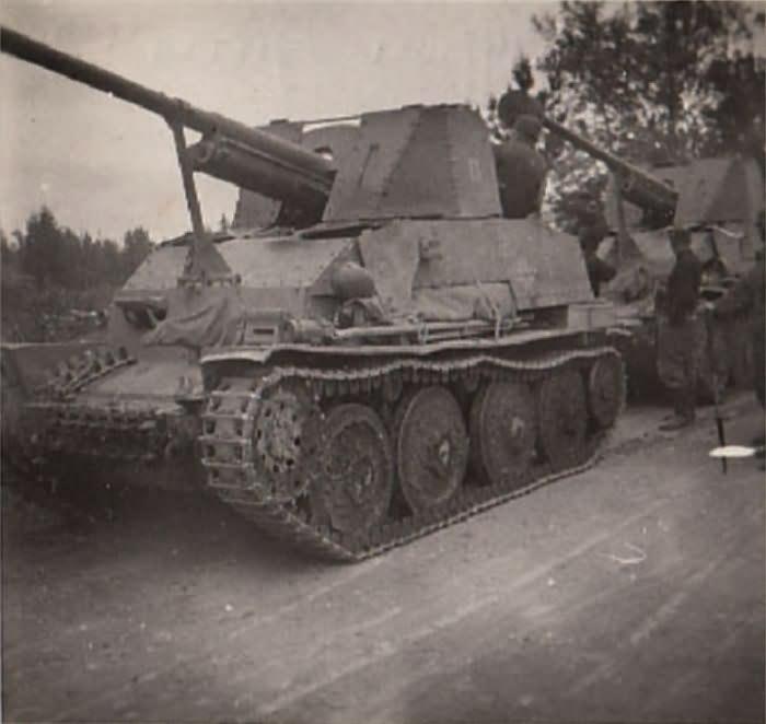 marder iii panzerj ger 38 t f r 7 62 cm pak 36 r sd kfz 139 world war photos. Black Bedroom Furniture Sets. Home Design Ideas