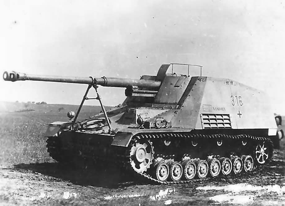 Image result for German Nashorn tank destroyer