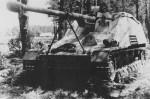 8,8cm PaK/43 L/71 auf Geschutzwagen III/IV Sd Kfz 164 Nashorn number 131