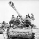 Hornisse Nashorn tank destroyers of 519th Schwere Panzerjager Abteilung eastern front Witebsk winter 1944