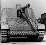 Nashorn 8,8cm PAK tank hunter SdKfz 164 front view