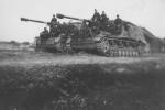 Nashorn German tank destroyers