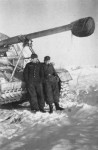 Panzerjager Nashorn Hornisse German tank destroyer winter