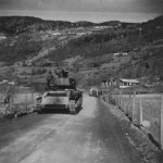 Neubaufahrzeug Panzer Abteilung z.b.V.40 in Norway