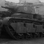Neubaufahrzeug tank of Panzer Abteilung z.b.V. 40 in Norway