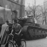 Neubaufahrzeug tank of Panzer Abteilung z.b.V. 40 Oslo 1940