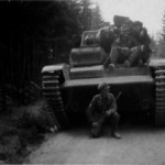 Panzerkampfwagen Neubaufahrzeug front view