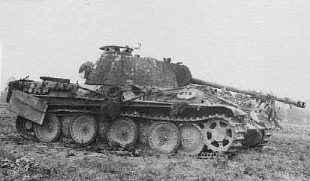 Image result for german panther tank destroyed