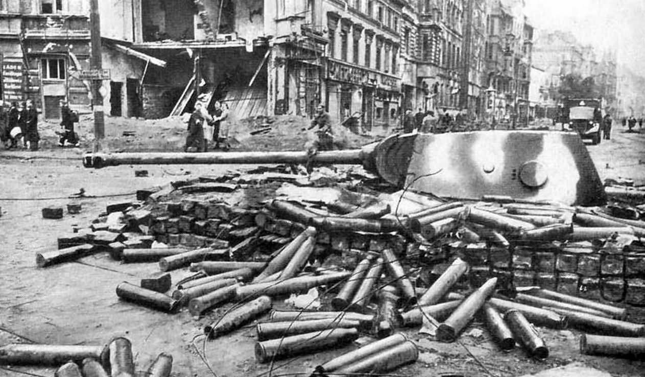 Panther Berlin 1945 World War Photos