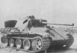German Panther ausf G tank
