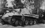 Panther ausf D 4th Panzer Regiment number 112