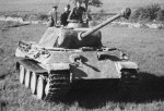 Panzer V Panther Das Reich division France 1944