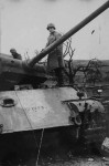 destroyed Panther ausf G