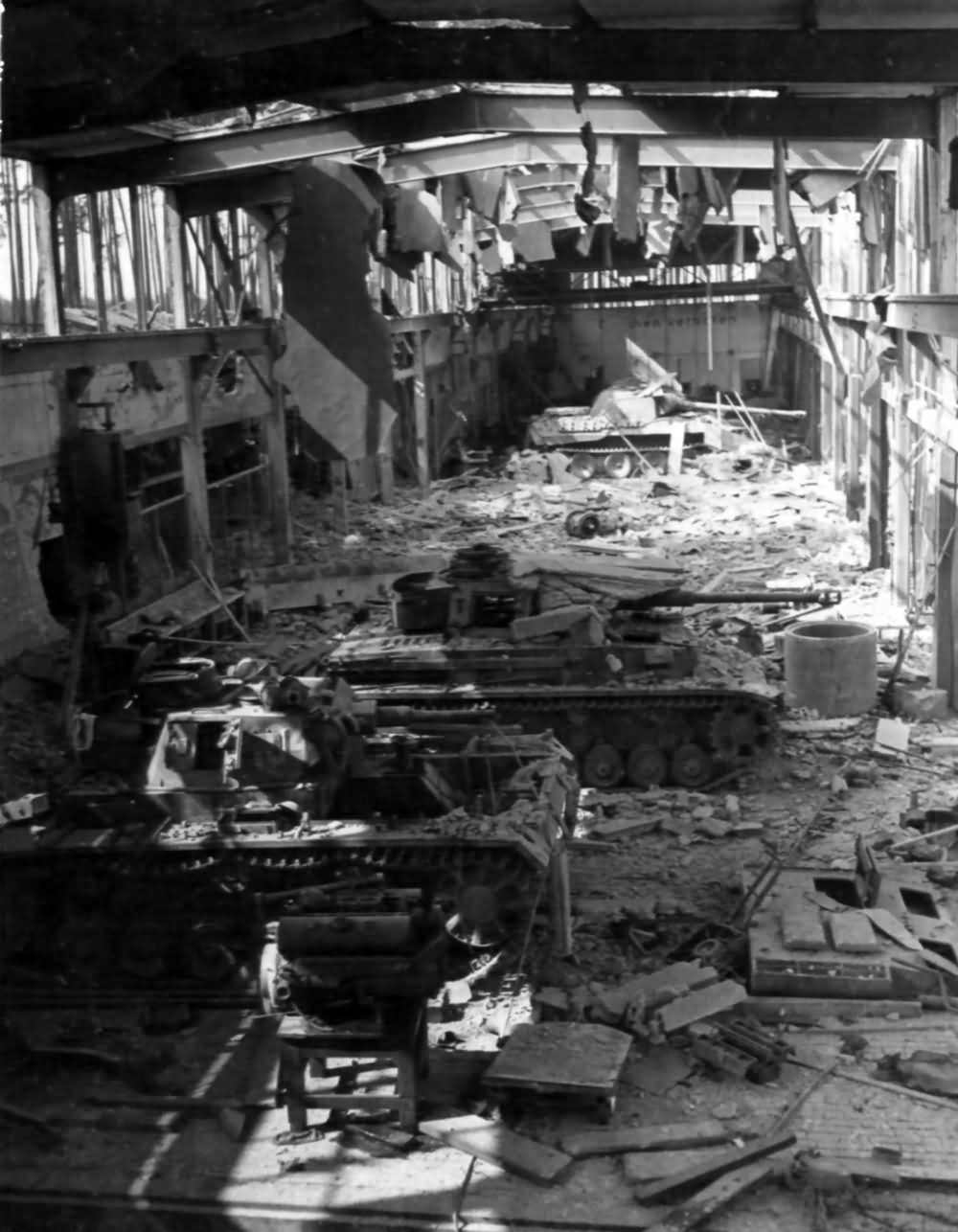 Camouflage Building World War