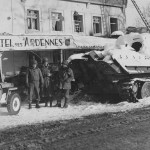 Abandoned Panther Ausf G Ardennes