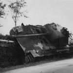 Captured German Panzerkampfwagen V Panther Ausf G Somewhere In France 16 August 1944