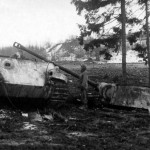 Destroyed Panther Northern Luxenburg January 22 25 1945
