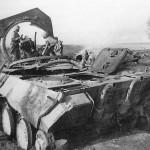 Destroyed Panther number 512 Kursk Eastern Front