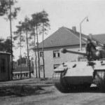 German Panther Ausf D on road