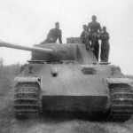 German tank Panther Ausf D
