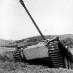 Italy 1944 Panzer V Panther with zimmerit