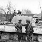 Oberst Karl Lorenz and Panzer V Panther Ausf A of Panzer Grenadier Division Grossdeutschland