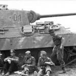 Oberst Langkeit Panzer V Panther 01 of Panzer Grenadier Division Grossdeutschland Eastern Front