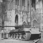 Panther Ausf A Outside Cologne Cathedral 1945