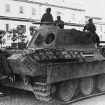 Panther Ausf A tank Rome 1943 Panzer Regiment 4