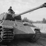 Panther Ausf A with Zimmeritt of Waffen SS 1944