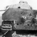 Panther Ausf D number 434 51st Panzer Battalion rear view Kursk