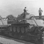 Panther Ausf G 1944 rail transport