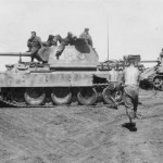 Panther ausf D tanks 732 and 721