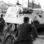 Panther of 5 Waffen SS Panzer Division Wiking Kowel 1944