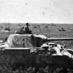 Panther Ausf D tank number 914, 1943