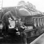 Panther tank rail transport 2