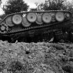 Panther tank upside down France 29 July 1944