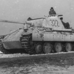 Panzer V Panther with Zimmerit Eastern front 1944 45