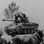 Tank Panther Ausf A of the 3rd SS Panzer Division Totenkopf Poland 1944